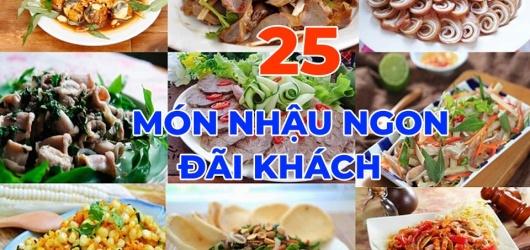 25 món nhậu ngày Tết đãi khách ăn lai rai dễ làm để được lâu ngon bổ