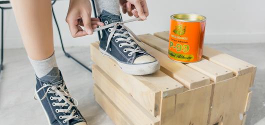 Cách dùng keo con chó dán giày, đồ da, đồ gỗ hiệu quả nhất