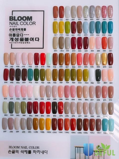 Set 210 màu sơn gel Haokou Hàn Quốc 15ml siêu bền đẹp | Shopee Việt Nam