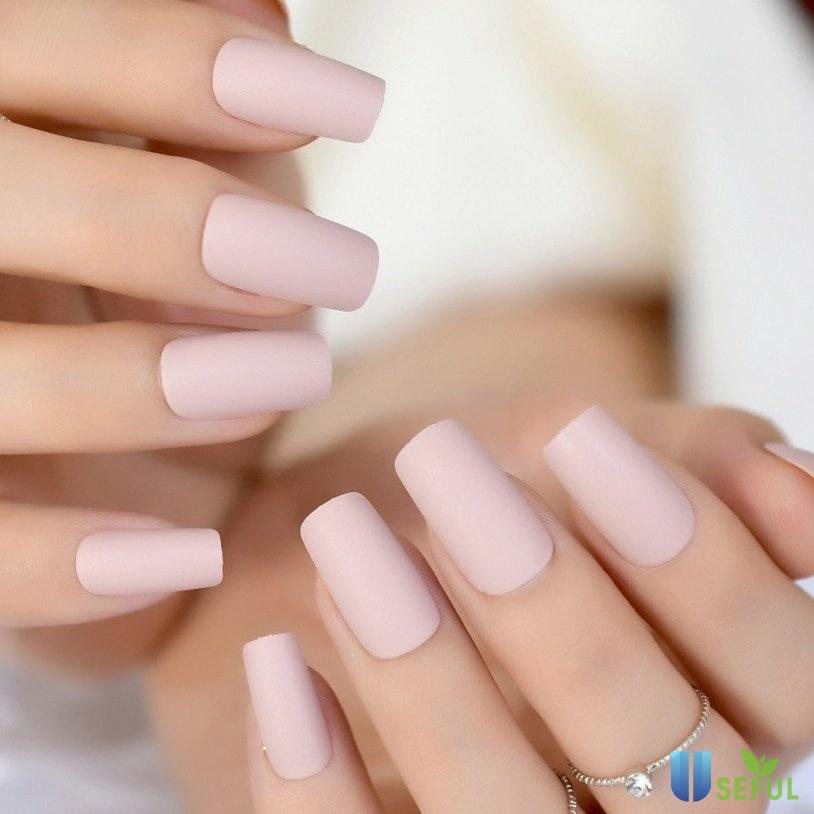 Mẫu nail hồng pastel dịu dàng - Baotrithuc.vn