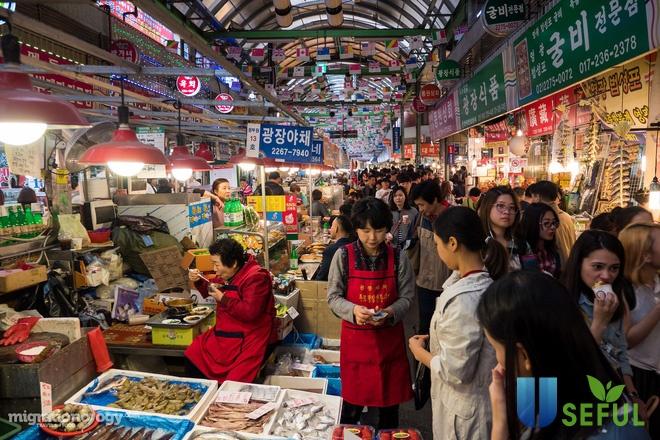 Ẩm thực khu chợ Gwangjang - thiên đường ẩm thực hấp dẫn du khách ngay giữa lòng Seoul