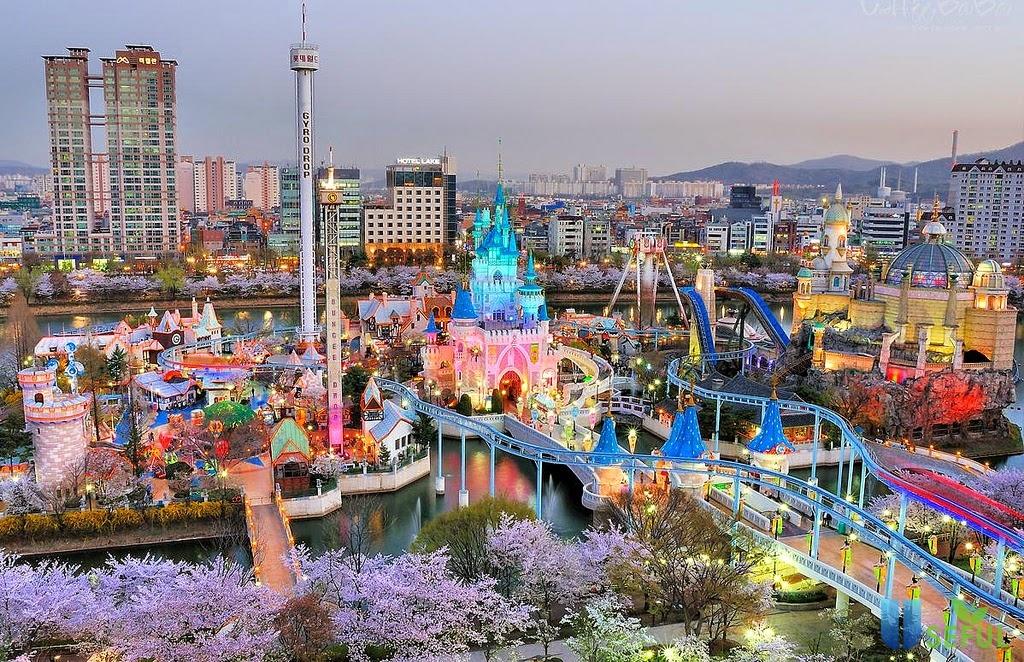 Du lịch Hàn Quốc, nên tham quan Everland hay Lotte World? - Dulichbui.org