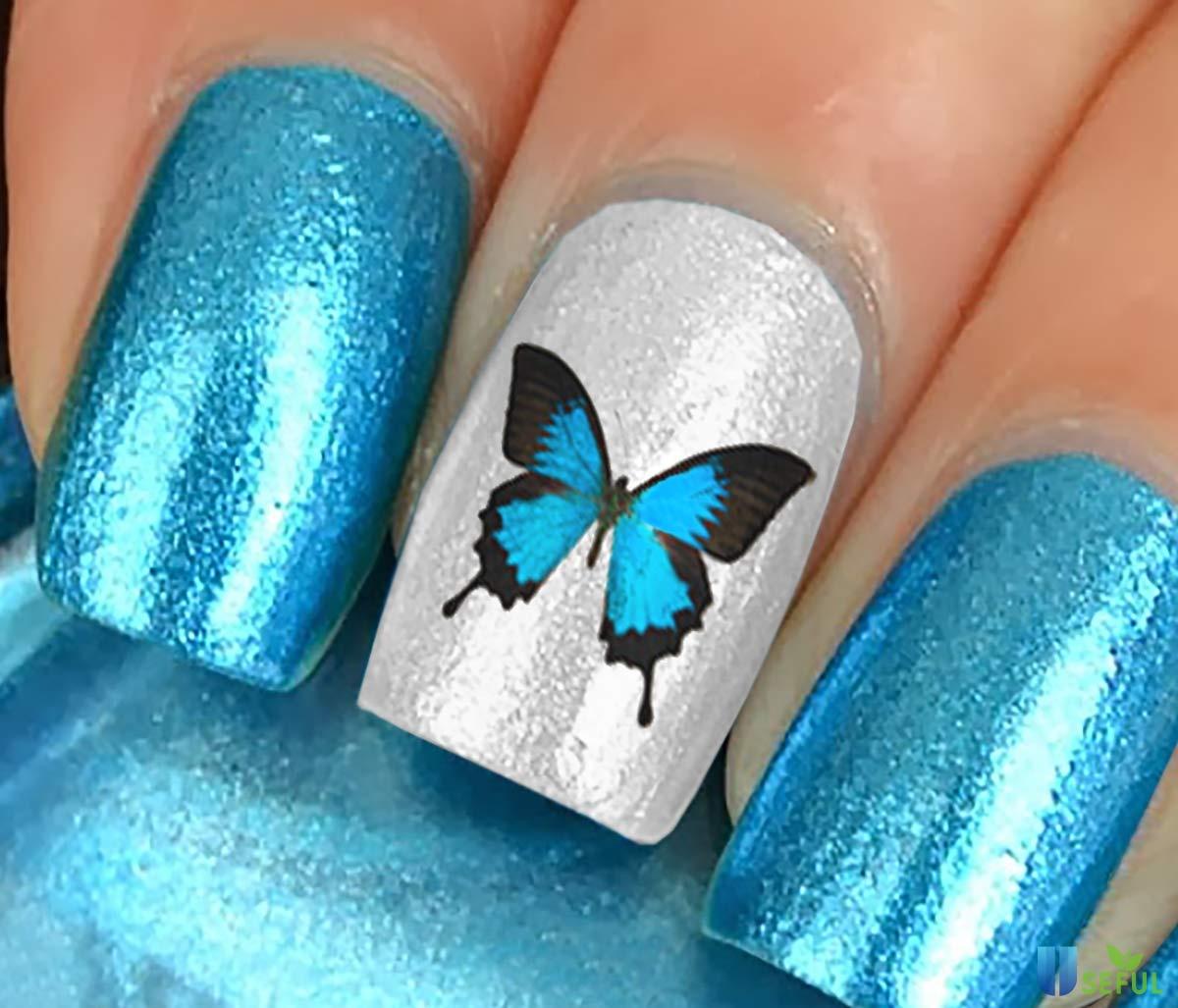 Mẫu nail bướm siêu chất