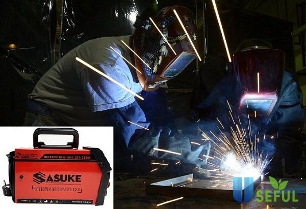 Máy hàn điện tử Sasuke hoạt động ổn định cho mối hàn bền đẹp - Dichvuhay.vn
