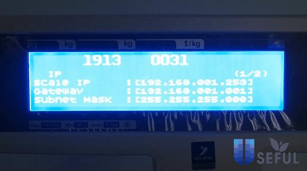 Địa chỉ IP của cân thường được cài đặt sẵn - Dichvuhay.vn