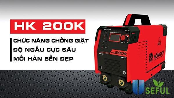Máy hàn Hồng Ký 200K được nhiều người đánh giá cao - Dichvuhay.vn
