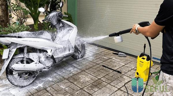 Máy rửa xe Karcher nội địa Nhật có hiệu quả làm việc tốt - Dichvuhay.vn