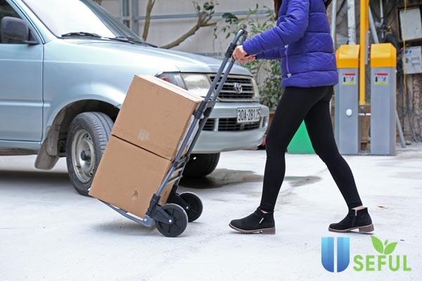 Nên chọn mua xe đẩy hàng 250kg chính hãng - Dichvuhay.vn