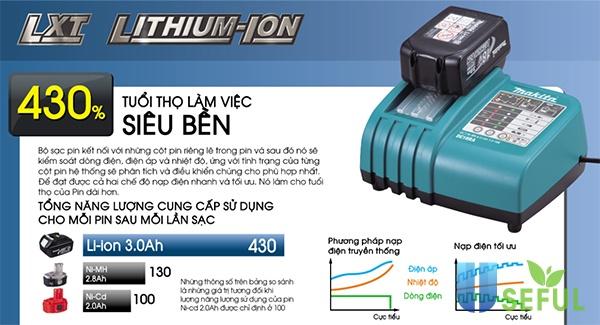 Pin Lithium có độ bền lớn, tự bảo vệ pin - Dichvuhay.vn