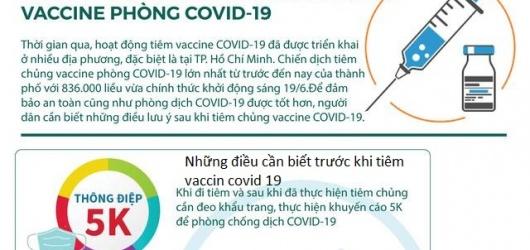 Những điều cần biết trước khi tiêm vaccine covid 19 mọi người nên lưu ý