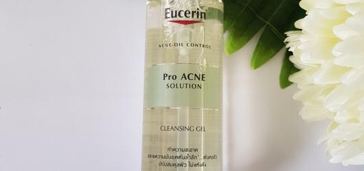 [Review] Gel Rửa Mặt Eucerin Trị Mụn ProAcne Solution Cleansing Gel