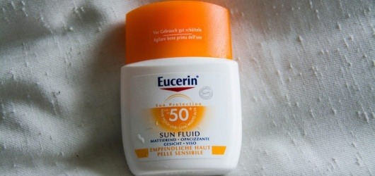 [Review] Kem Chống Nắng Eucerin Sun Fluid Mattifying SPF50