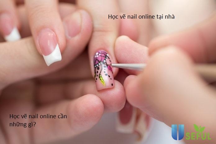 Học vẽ nail tại nhà