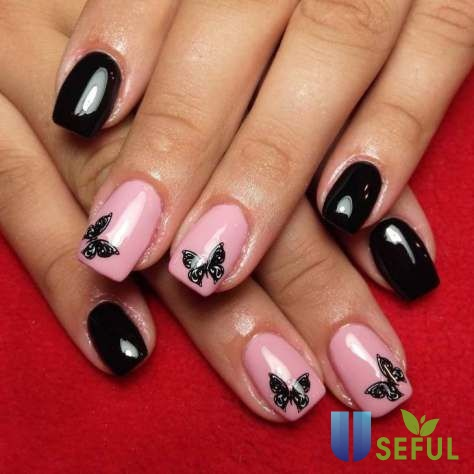 Unique Butterfly Nail Designs 2018 | Butterfly nail, Butterfly nail art, Butterfly nail designs