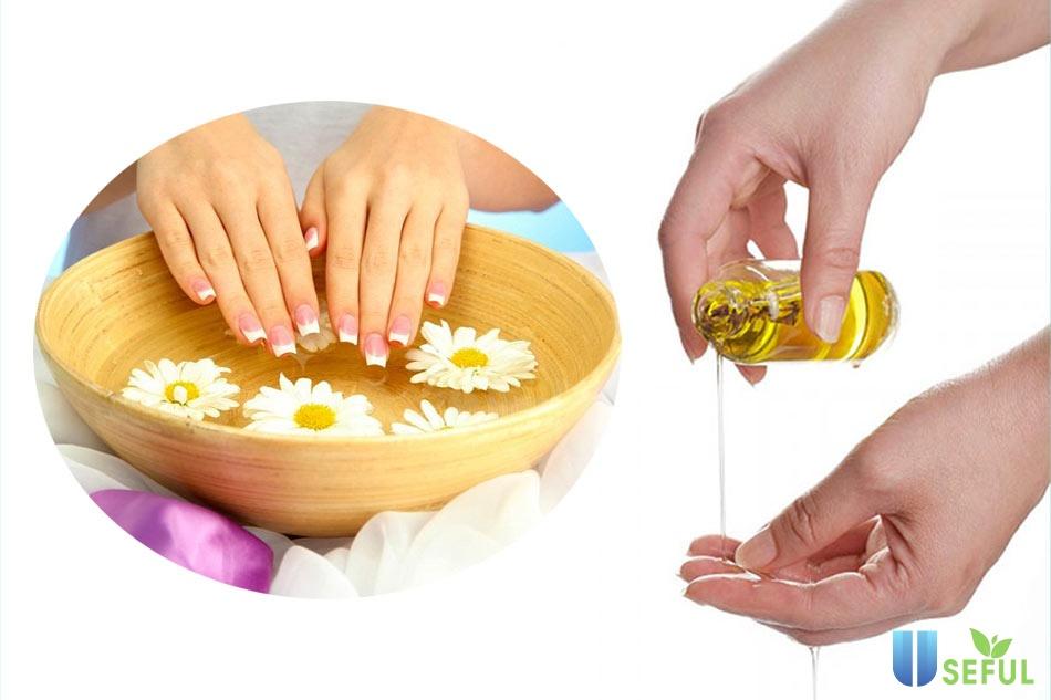 Cách chăm sóc móng tay đẹp cho các nàng tại nhà
