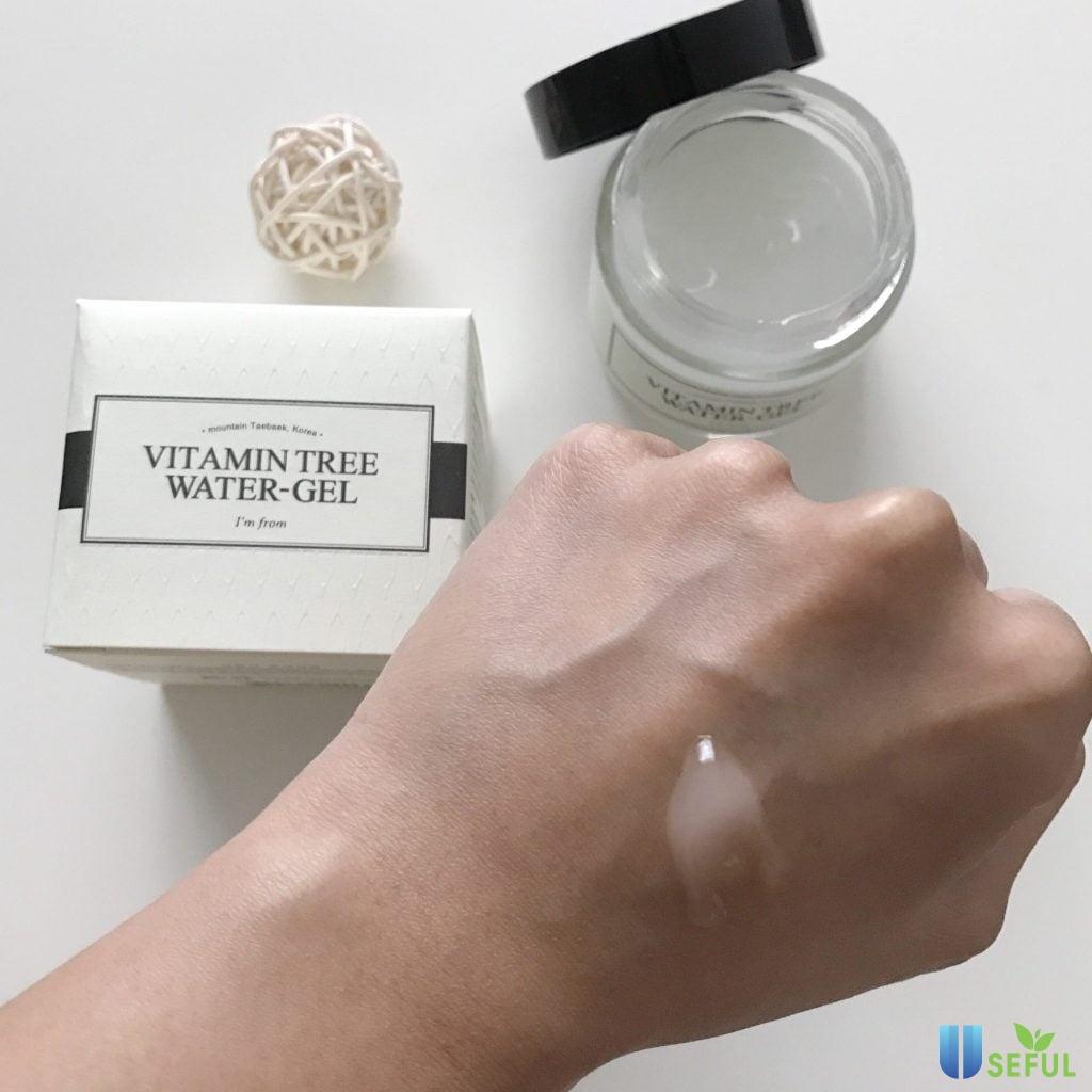Đánh giá Gel Dưỡng Ẩm I'm from Vitamin Tree Water