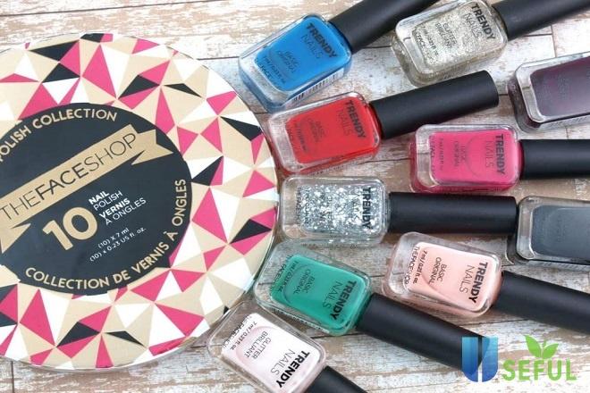 The Face Shop Trendy Nails là thương hiệu nổi tiếng được phái đẹp đánh giá rất cao