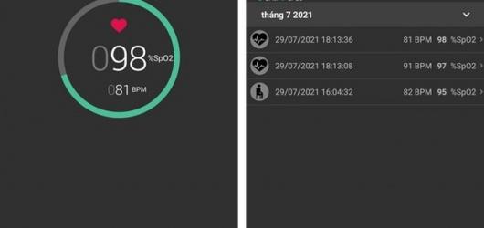 App đo SPO2 bằng smartphone