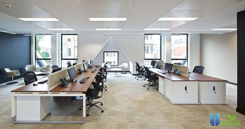 Cách tiết kiệm chi phí thiết kế nội thất văn phòng đẹp Work & Wonders