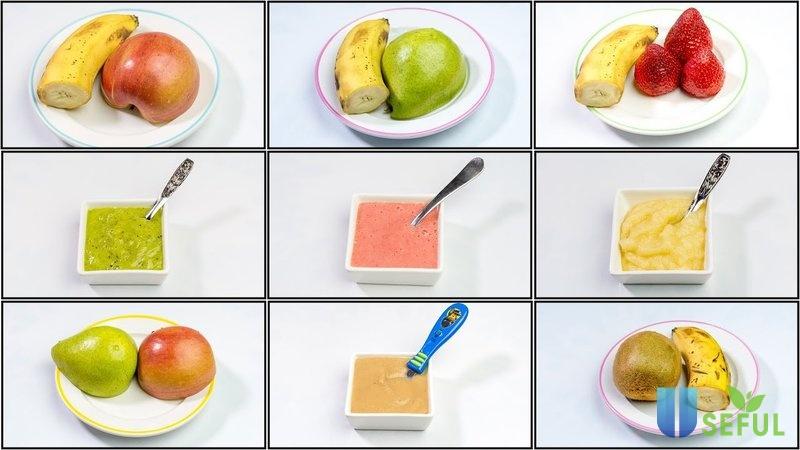 Những chất dinh dưỡng cần thiết cho bé
