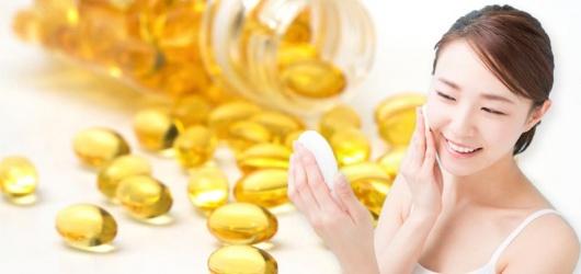 Các cách chăm sóc da mặt bằng Vitamin E cực kỳ hiệu quả của phái đẹp