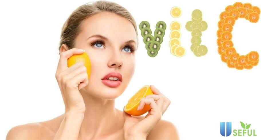 Giúp làn da sáng mịn với Vitamin