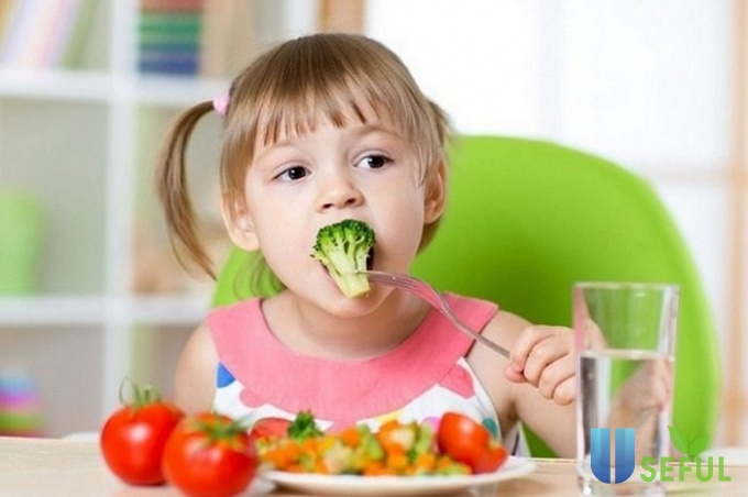 Dinh dưỡng cho bé từ 6-11 tuổi