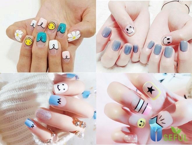 Mẫu nail đáng yêu icon dễ thương