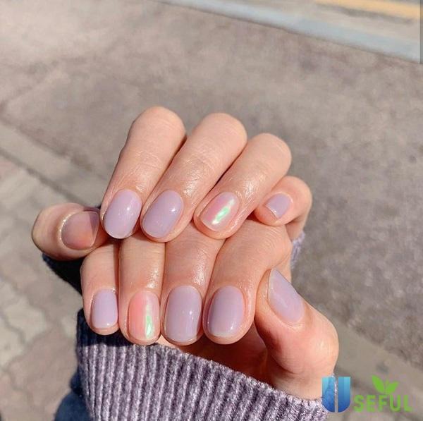 Mẫu nail nhẹ nhàng dễ thương dành cho các bạn học sinh