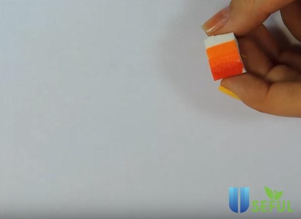 Các bước vẽ nail chiếc lá