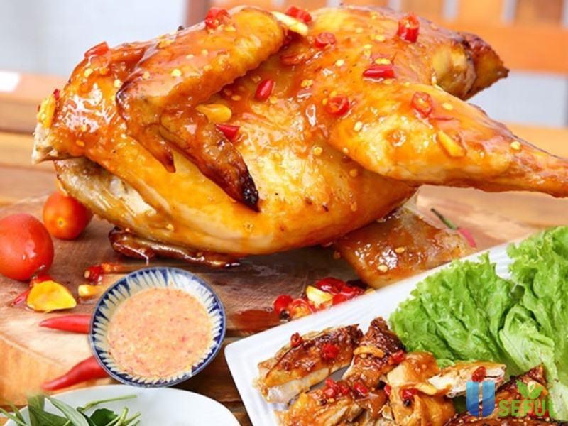 6 cách nướng gà bằng nồi cơm điện thơm ngon dinh dưỡng không bị cháy - Useful.vn