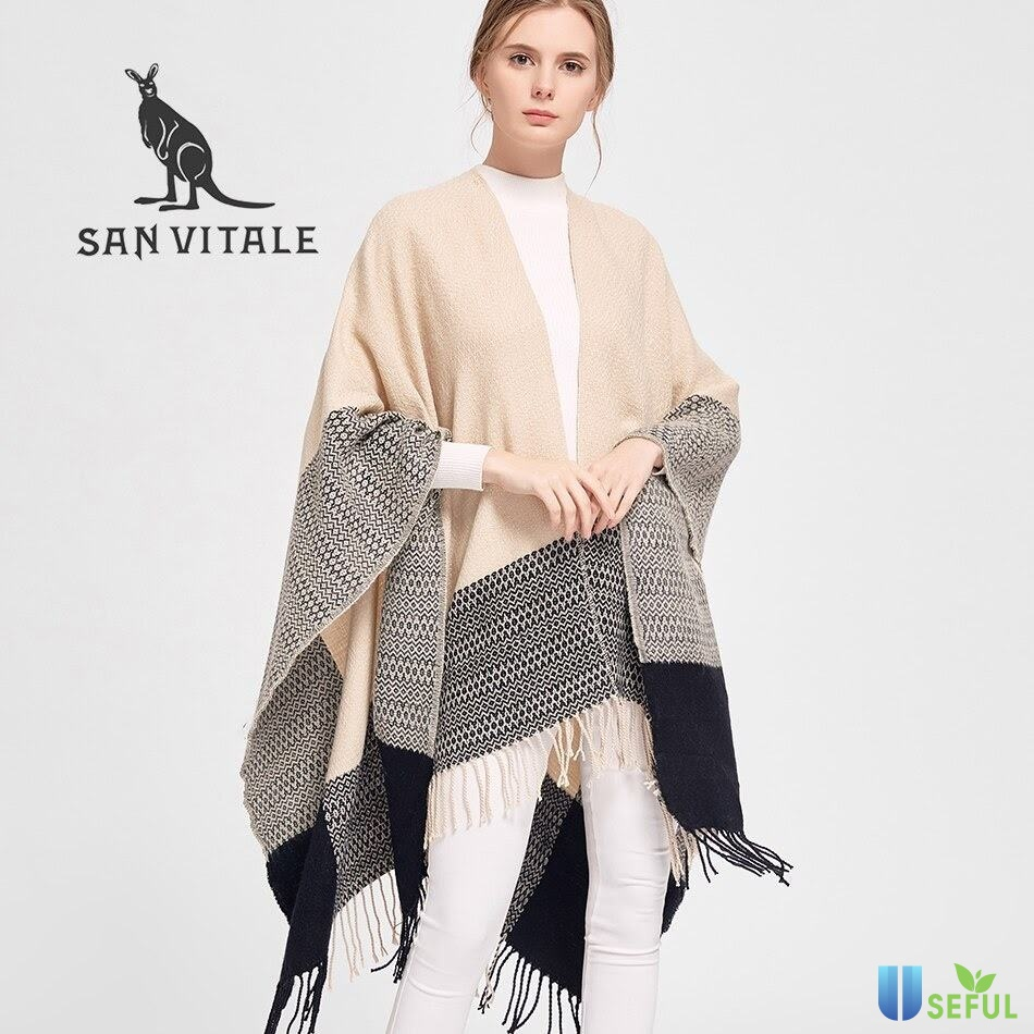 Khăn choàng là sự lựa chọn phù hợp cho nàng giữ ấm vào mùa đông