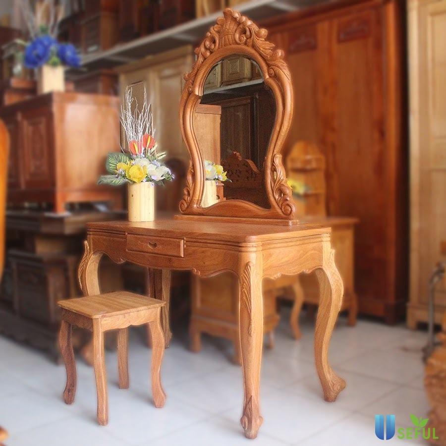 Bàn trang điểm gỗ Tần Bì