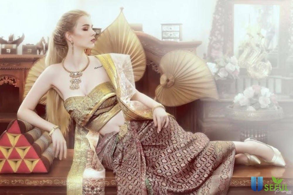 Sarong Thái Lan với thiết kế mang đậm bản sắc xứ chùa Vàng