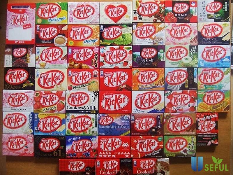 Món bánh KitKat được săn đón ở Thái Lan nhờ giá thành rẻ