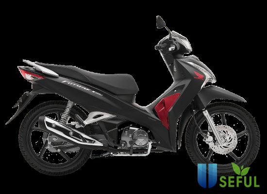 Honda Future màu đen đỏ 2021.