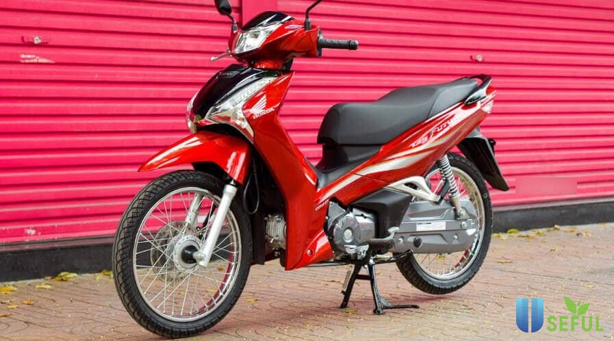 Xe Future màu đỏ đen R340.