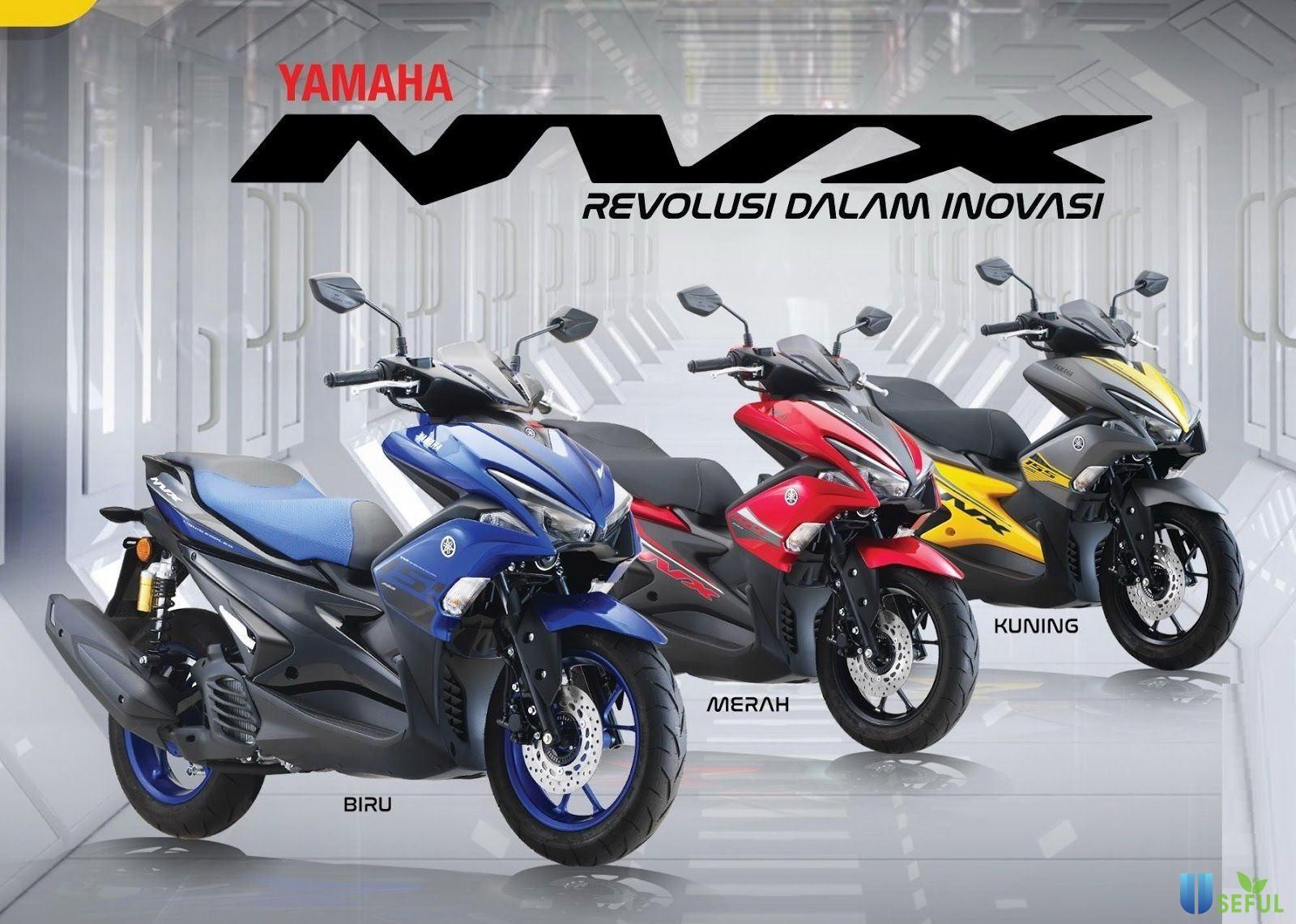 Yamaha NVX 155 ABS có phong cách thể thao mạnh mẽ