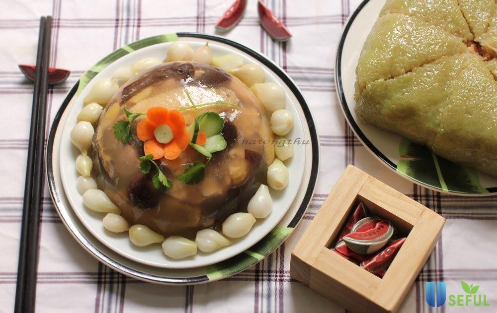 Nấu thịt đông - món ăn truyền thống ngon đãi khách