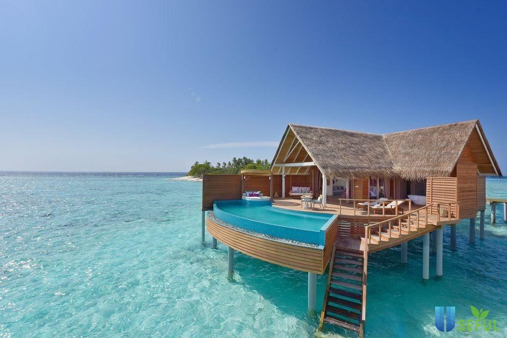 Water Villa là resort đẳng cấp bậc nhất ở Maldives