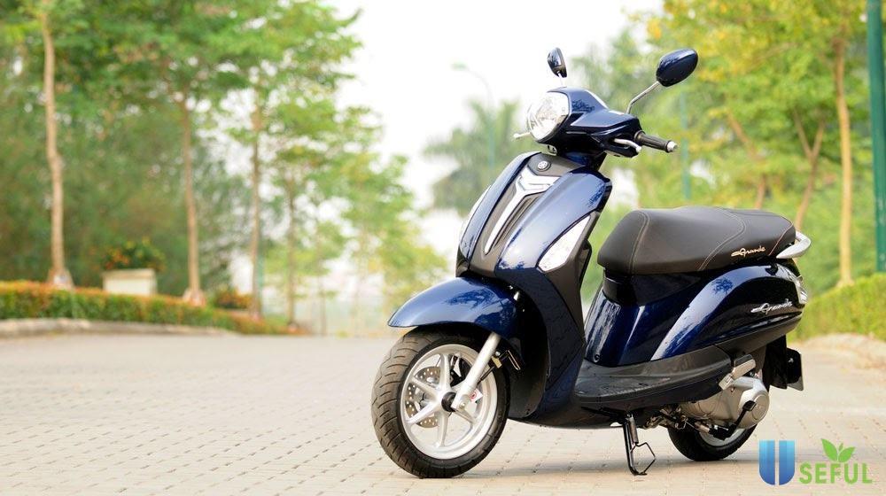 Yamaha Grande vừa cho ra mắt dòng sản phẩm năm 2021 gây ra một còn sốt cho chị em phụ nữ