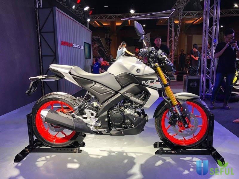 Xe moto hãng Yamaha tại triển lãm